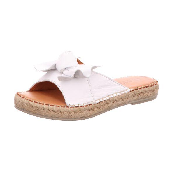 MACA Kitzbühel Damen-Pantolette Weiß