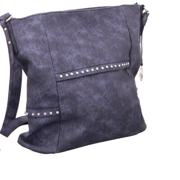 Jewels of Style Schultertasche Blau