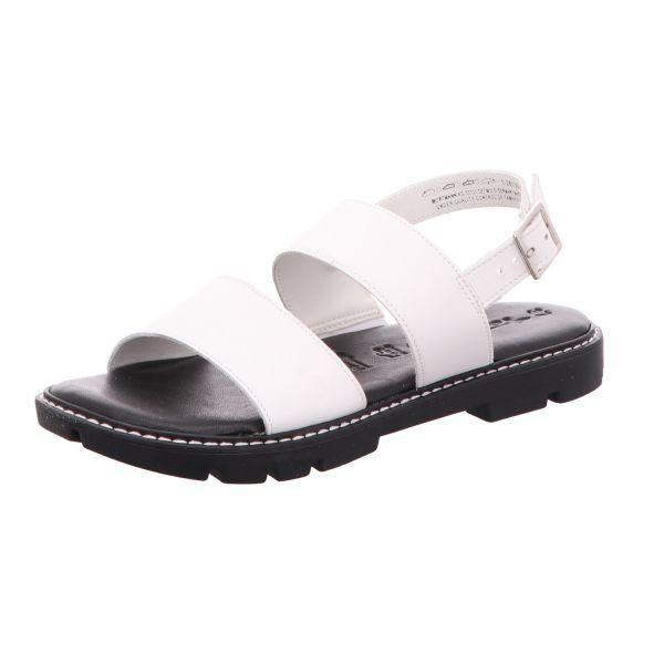 TAMARIS Damen-Sandalette Weiß