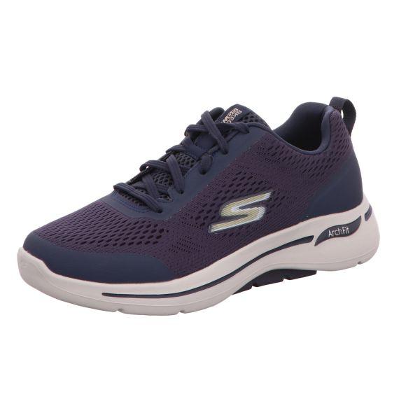Skechers Herren-Sneaker Go Walk Arch Fit Idyllic Blau