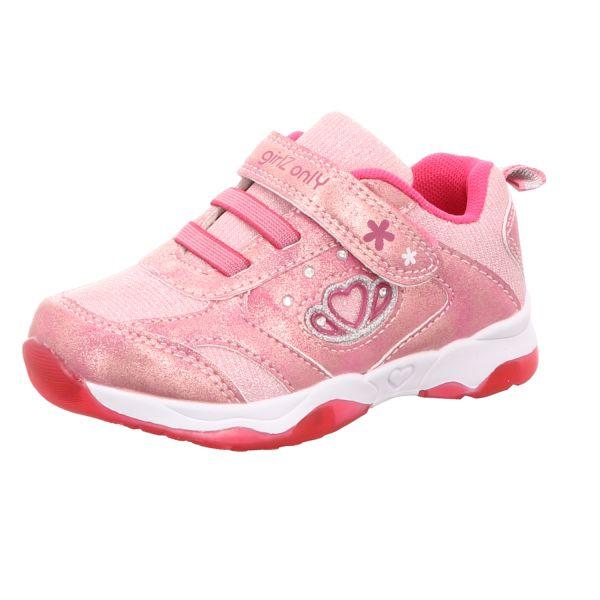 girlZ onlY Mädchen-Slipper-Kletter Pink