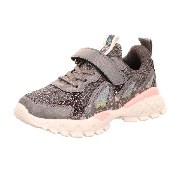 Sneakers Mädchen-Slipper-Kletter-Sneaker Grau