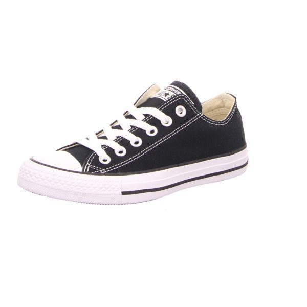 Converse Damen-Leinen-Sneaker Chuck Taylor OX Schwarz