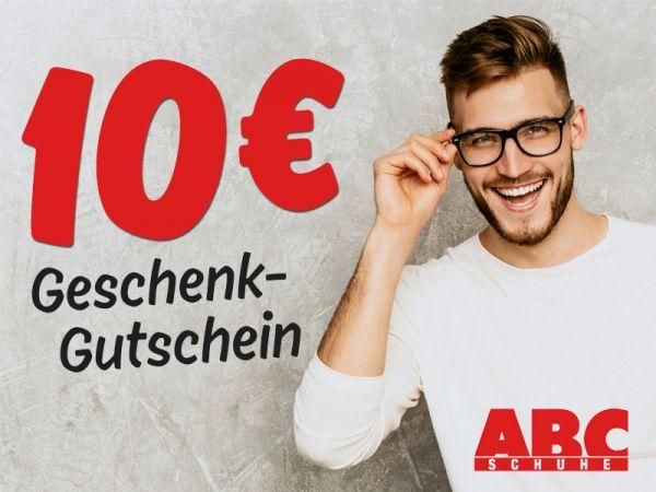 10 € ABC SCHUHE Gutschein